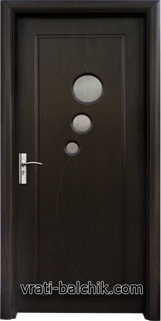 Интериорна HDF врата, модел 017 Венге