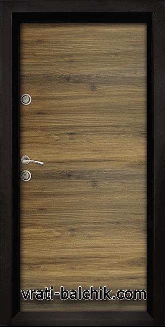 Блиндирана входна врата модел Ale Door 404 Napoli
