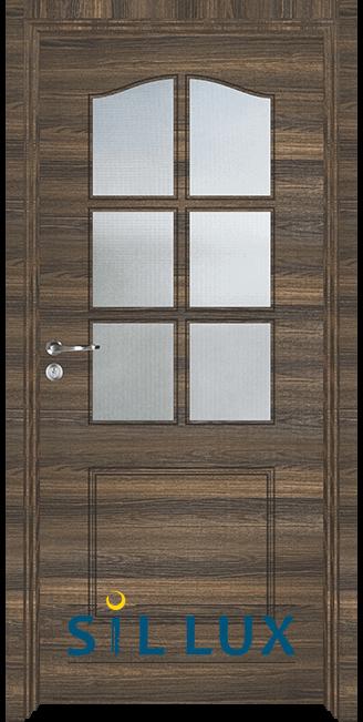 Интериорна врата Sil Lux 3002, Райски орех