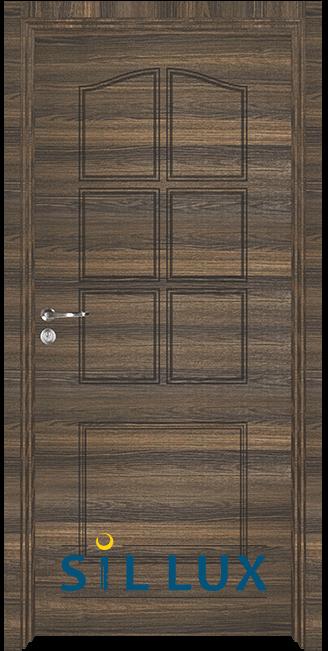 Интериорна врата Sil Lux 3002p, Райски орех