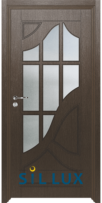 Интериорна врата Sil Lux 3003, Златен кестен