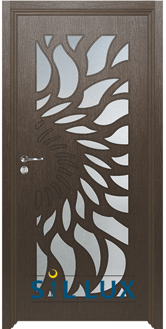 Интериорна врата Sil Lux 3004, Златен кестен