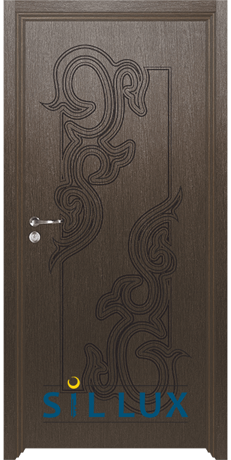 Интериорна врата Sil Lux 3006p, Златен кестен