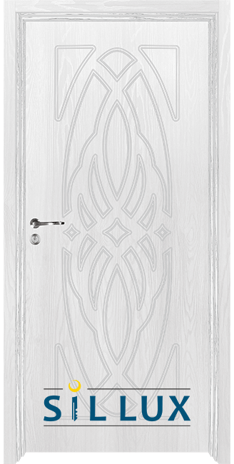 Интериорна врата Sil Lux 3007p, Снежен бор