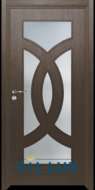 Интериорна врата Sil Lux 3008, Златен кестен