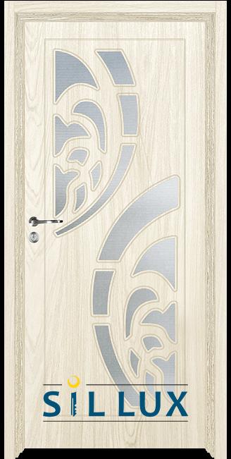 Интериорна врата Sil Lux 3010, Избелен дъб