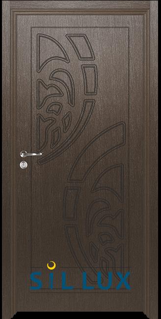 Интериорна врата Sil Lux 3010p, Златен кестен