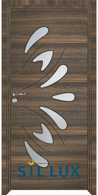 Интериорна врата Sil Lux 3011, Райски орех
