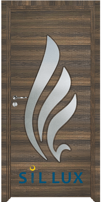 Интериорна врата Sil Lux 3013, Райски орех