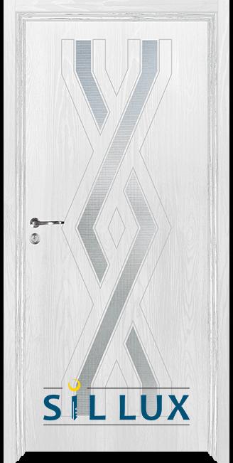 Интериорна врата Sil Lux 3015, Снежен бор